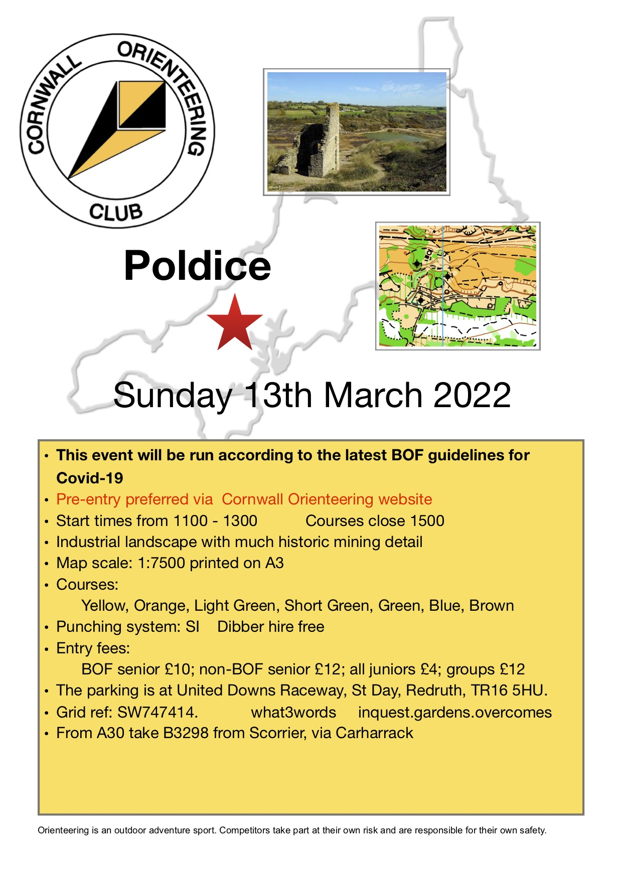 flyer for Police event 2019
